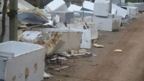 Fly-tipping now 'huge problem'