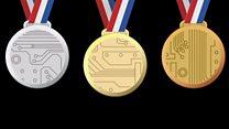 Як зробити медалі з мобільних телефонів?