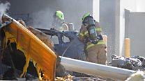 Австралия: самолет упал на торговый центр
