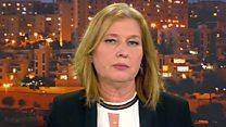 Israel's Tzipi Livni on US embassy move