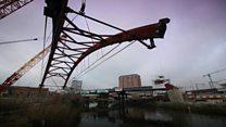 Ordsall Chord bridge links stations