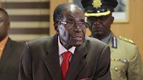"""Mugabe: """"je n'ai pas de successeur"""""""