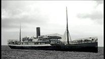 WWI SS Mendi ship sinking centenary commemorated