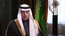 عادل جبیر:  ایران باید از دخالت نظامی در عراق و سوریه دست بردارد
