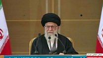 تاکید رهبر ایران بر مبارزه مرحله به مرحله با اسراییل