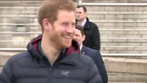 Prince Harry's mental health message