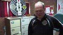 Club treasurer shows GAA office damage
