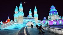 هاربين الصينية...أكبر مدينة جليدية في العالم