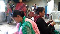 आयआर्जनमा दाङका हिंसा पीडितहरु