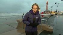 Storm Doris heads towards the UK