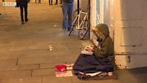 Homeless councillor eats humble pie