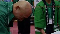 Japan 'baldies' hold annual get-together
