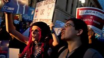 Transgender activists take to DC streets