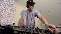 One-armed DJ's passion for music
