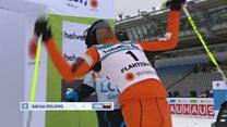 World's worst skier - or true sportsman?
