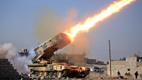 Mosul: Roadside bombs and gunfights