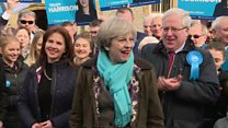 May hails 'astounding' Copeland victory