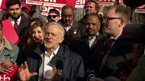 Corbyn: Stoke victory a 'triumph over fear'