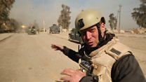 Dentro de la batalla entre Estado Islámico y las fuerzas iraquíes en su intento de recuperar Mosul