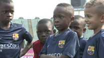 The future football stars of Africa?
