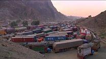 بسته شدن مرزهای پاکستان به روز افغانستان
