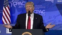 ترامب يجدد إتهامه وسائل الإعلام بتزويرالأنباء