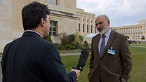 گفتگوی بی بی سی فارسی با جمال سلیمان، عضو هیئت مذاکره کنندگان مخالف دولت سوریه