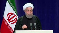 """هشدار روحانی در مورد """"دخالت"""" نیروهای نظامی در انتخابات"""