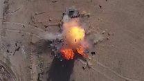 """تنظيم الدولة يستخدم طائرات بدون طيار """"مفخخة"""" في الموصل"""