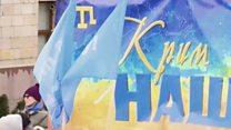 У Києві кримські татари протестували проти дій Росії