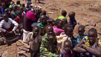 بي بي سي ترصد تدفق الآلاف في جنوب السودان لتلقي المعونات الغذائية