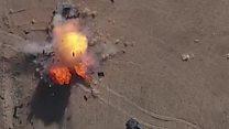 ไอเอสปรับกลยุทธ์ใช้โดรนทิ้งระเบิด