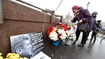 Shrine to Russia opposition leader removed