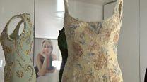 Плаття Діани показали на виставці