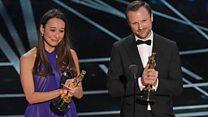 Cardiff Uni student Joanna Natasegara wins Oscar