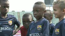Le Barça ouvre une académie à Lagos