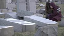 Another Jewish cemetery attacked in US