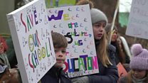 These school protests aren't about pay