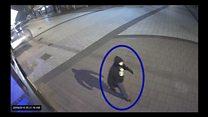 CCTV of Matalan murderer before killing