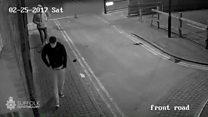 CCTV clip released in rape investigation