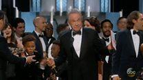"""""""Esto no es una broma"""", el error de los Oscar 2017 que dio por ganadora a """"La La Land"""" en lugar de """"Moonlight"""""""