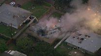 Plane crash in California kills three