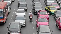 Which city has the worst traffic?