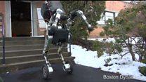 Робот від Google елегантно гарцює на коліщатах
