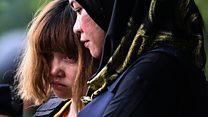 Luật sư Đoàn Thị Hương: 'Cô ấy bình tĩnh'