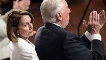 Democrats unimpressed with Trump's speech