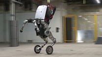 กูเกิลเปิดตัวหุ่นยนต์ติดล้อรุ่นใหม่