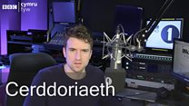 Greg James gives Cymraeg a go!