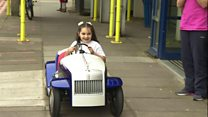 Youngsters at Chichester hospital get a new toy