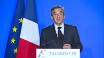 Fillon 'will not give up' French election